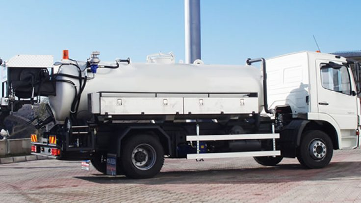 Canal Jetting Vehicles ACT-JET06