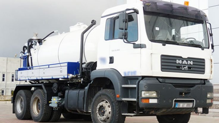 Canal Jetting Vehicles ACT-JET13
