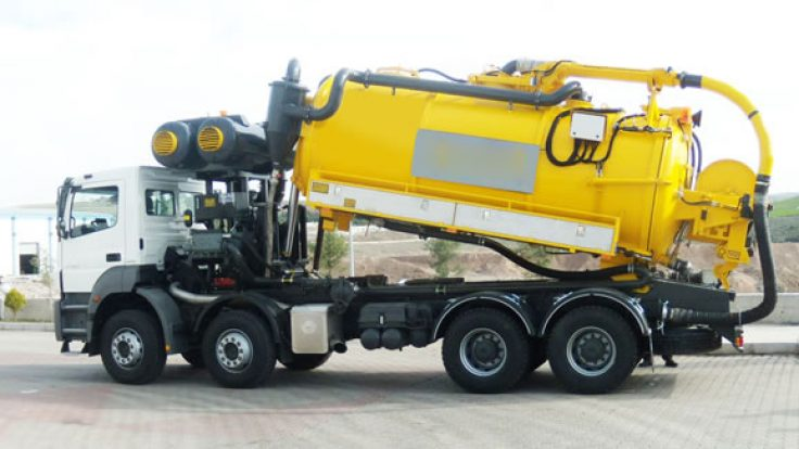 Combined Sewer Jetting & Vacuum Truck