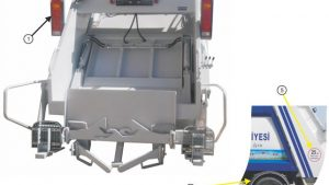 Garbage Compactor Truck Accessories