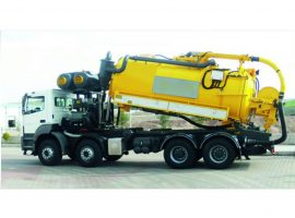 Combined Sewer Jetting  & Vacuum Trucks