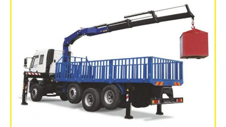 Truck Mounted Mobile Crane